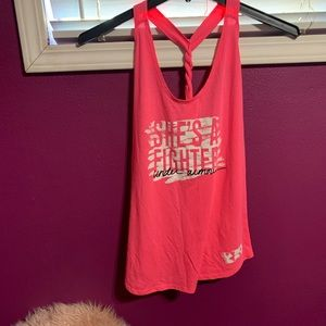 Under Armour Pink athletic shirt